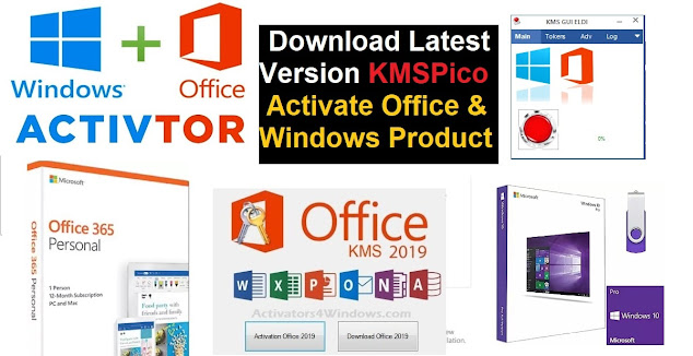 ctivate Microsoft Office/ Windows Product Using KMSpico