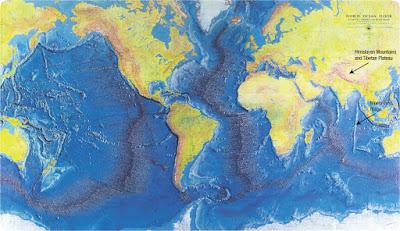 Mid Ocean Ridge atau Tanggul Dasar Samudera