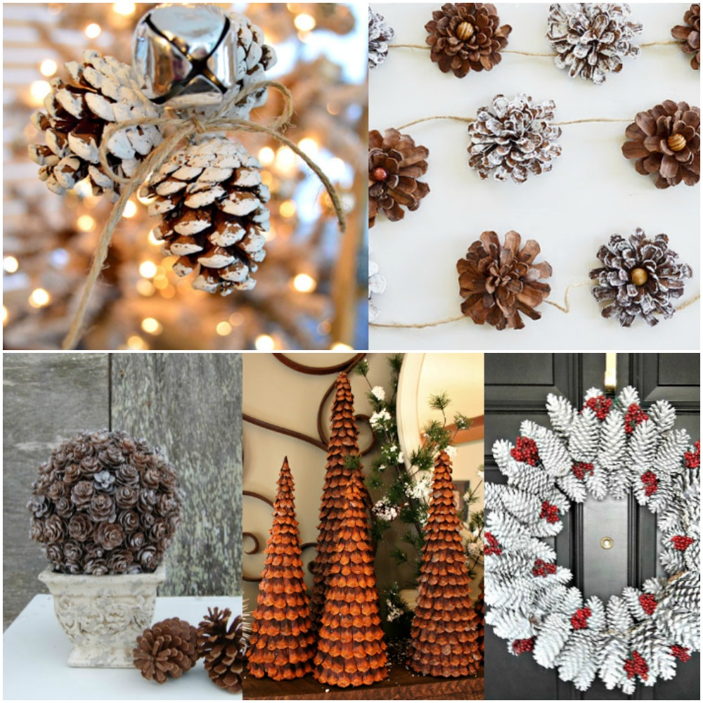 20 Of The Most Gorgeous Pine Cone Crafts To Make This Christmas