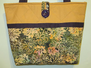 Handmade Quilted Purse on Etsy at CutePursenalities