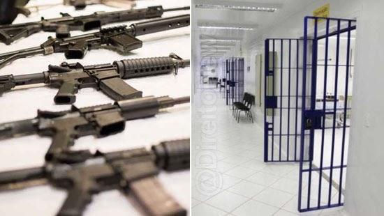 megatraficante armas deixa cadeia alvara falso