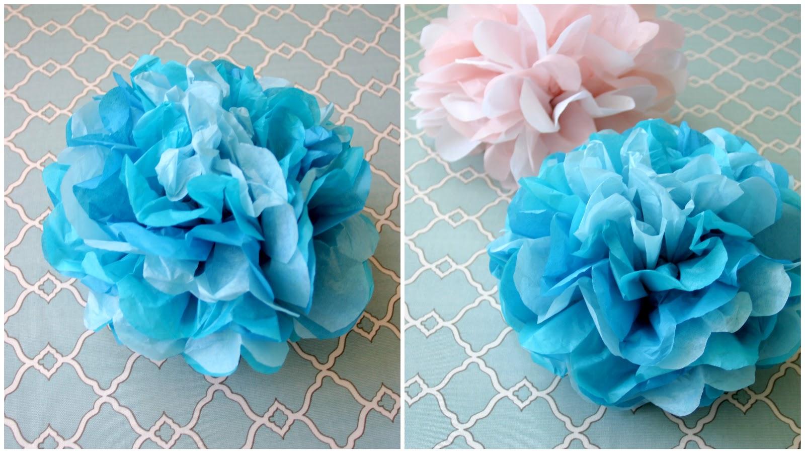 Dream State: DIY Tissue Paper Pom Poms!