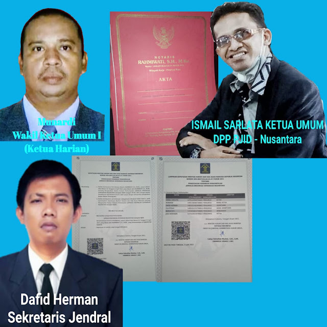 Resmi Berbadan Hukum, DPP PJID-Nusantara Terbitkan Enam Surat Keputusan Mandat  Dewan PimpinanWilayah  Provinsi di Indonesia