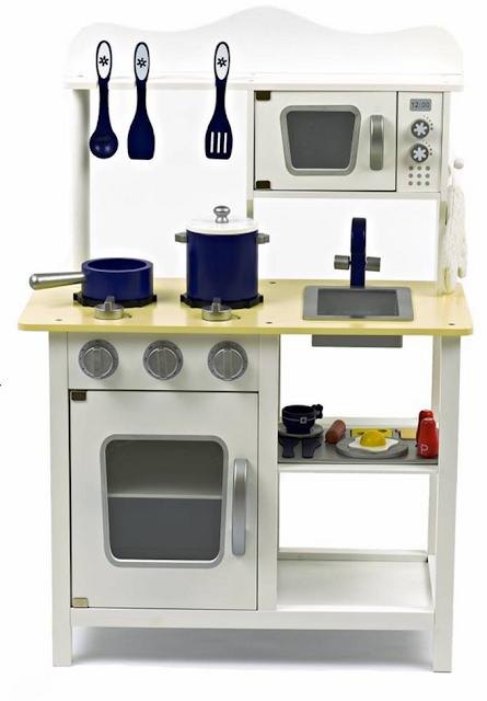 white toy kitchen
