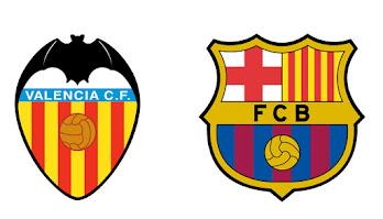 برشلونة و فالنسيا