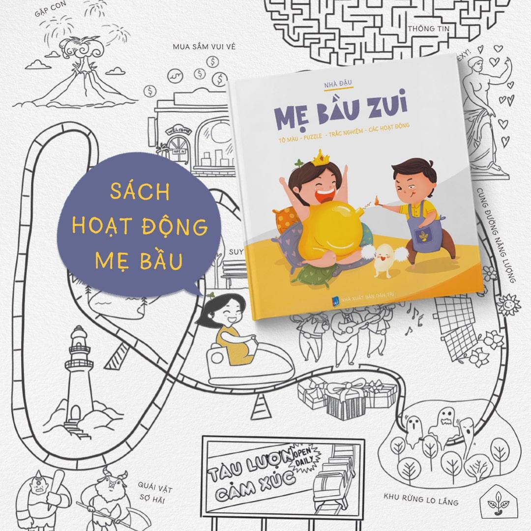 [A116] Lưu ý: Chọn sách thai giáo nào giúp Mẹ Bầu thư giãn?