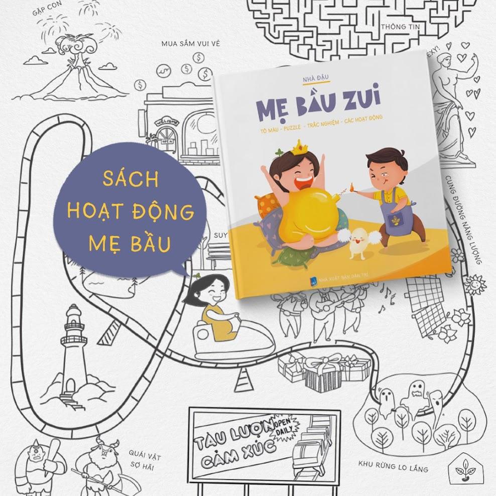 [A116] Mẹ Bầu Zui: Bộ sách thai giáo hay nhất cho Mẹ Bầu