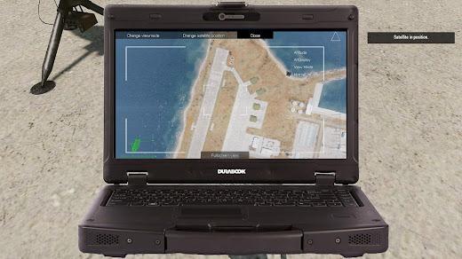 Arma3で衛星から映像を見れるMOD