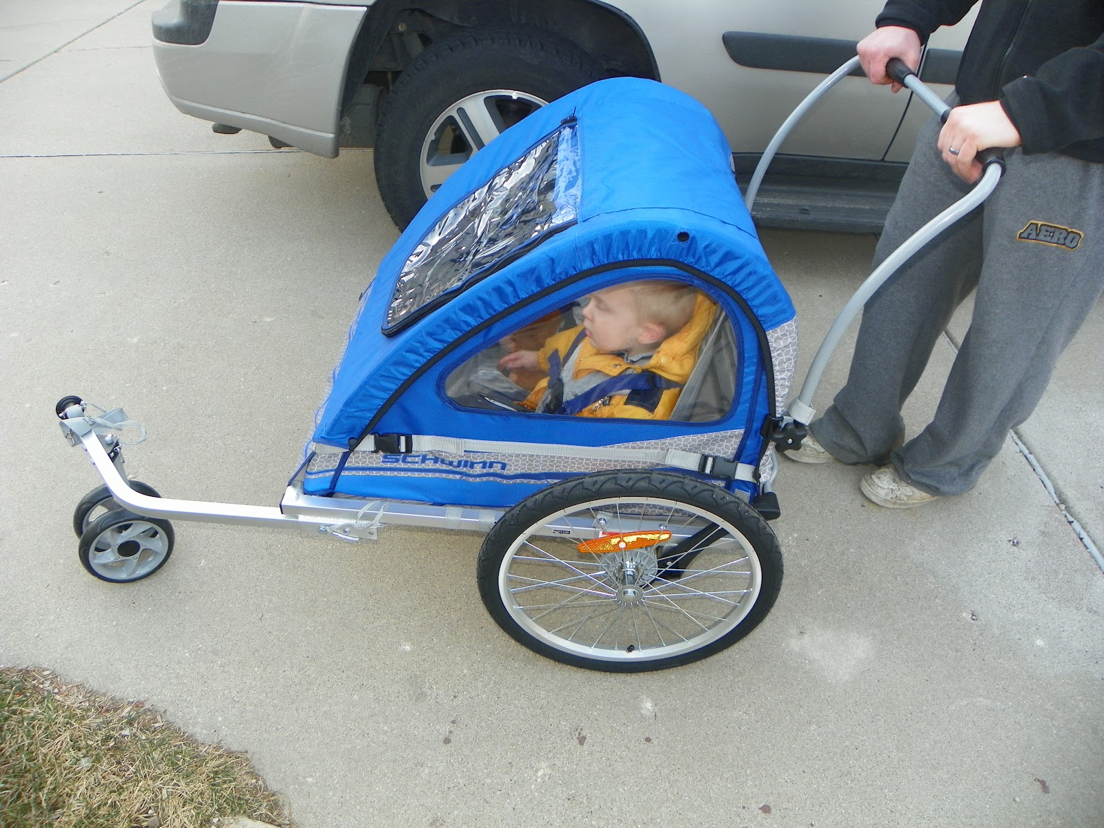 Schwinn Trailblazer Bicycle Trailer Review The Review Stew