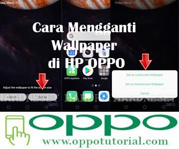 Cara Mengganti Wallpaper di HP OPPO