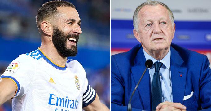 Lyon president wants Benzema back at former club