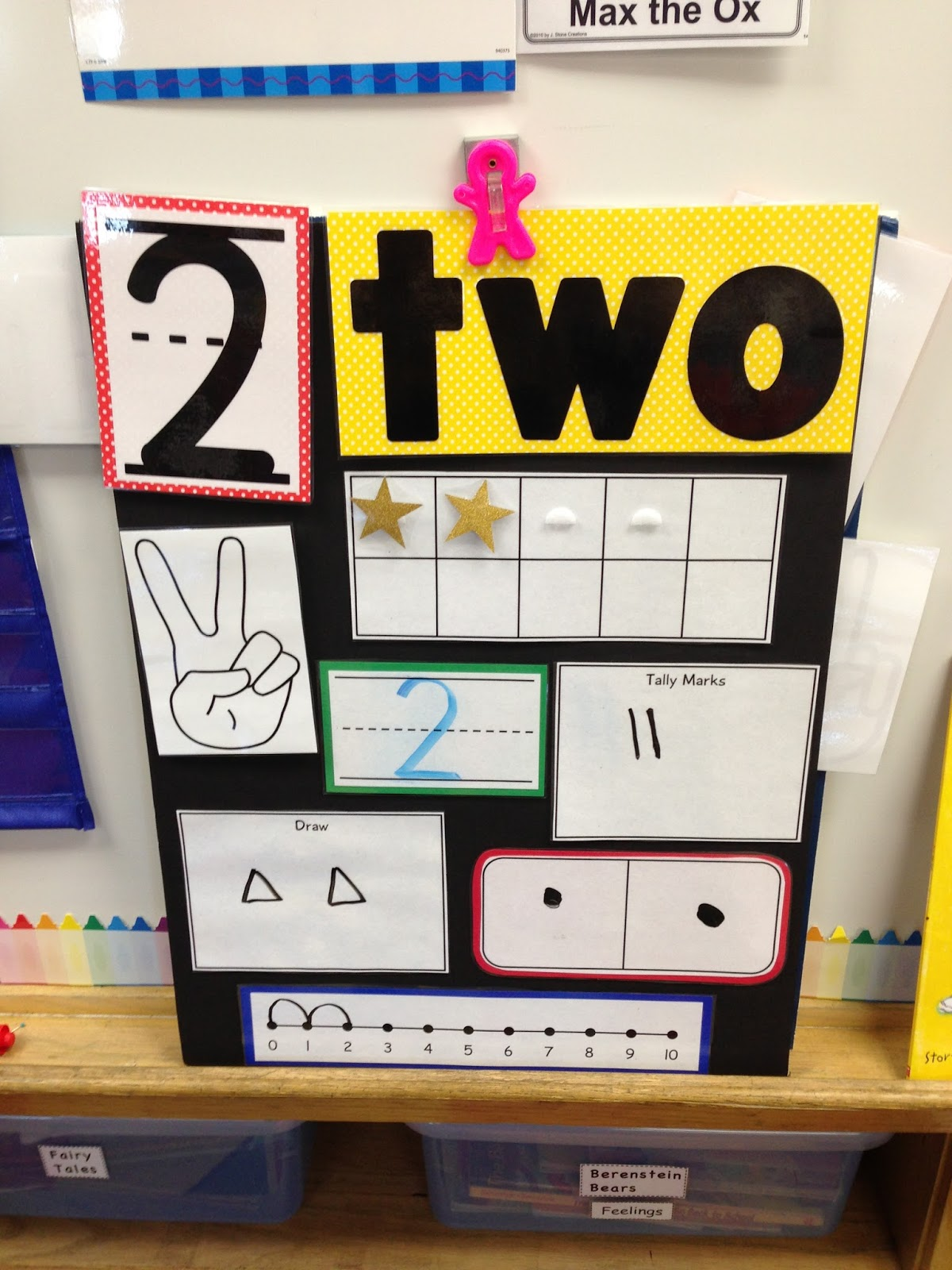 A Spoonful Of Learning: Number Boards For Your Classroom