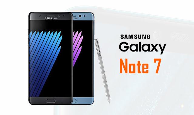 سعر و مواصفات هاتف سامسونج Samsung Galaxy Note 7