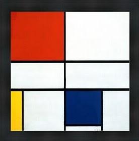 Mondrian colores primarios