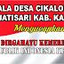Kades Cikalongsari,Endang Sugiarto Apresiasi Warga   Sambut HUT Kemerdekaan RIi Ke 75 Tahun