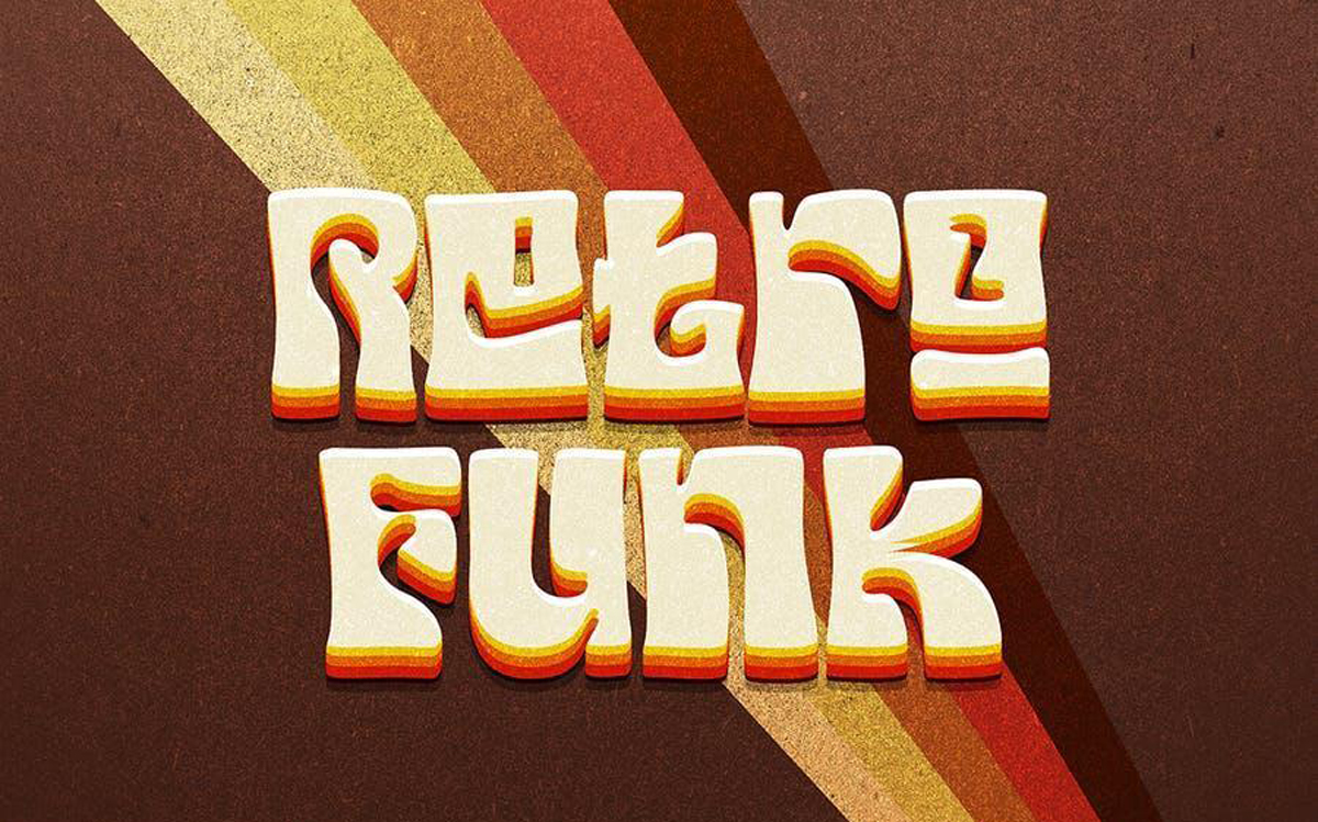 Your Groovy Font funk psychedelic 70s font..
