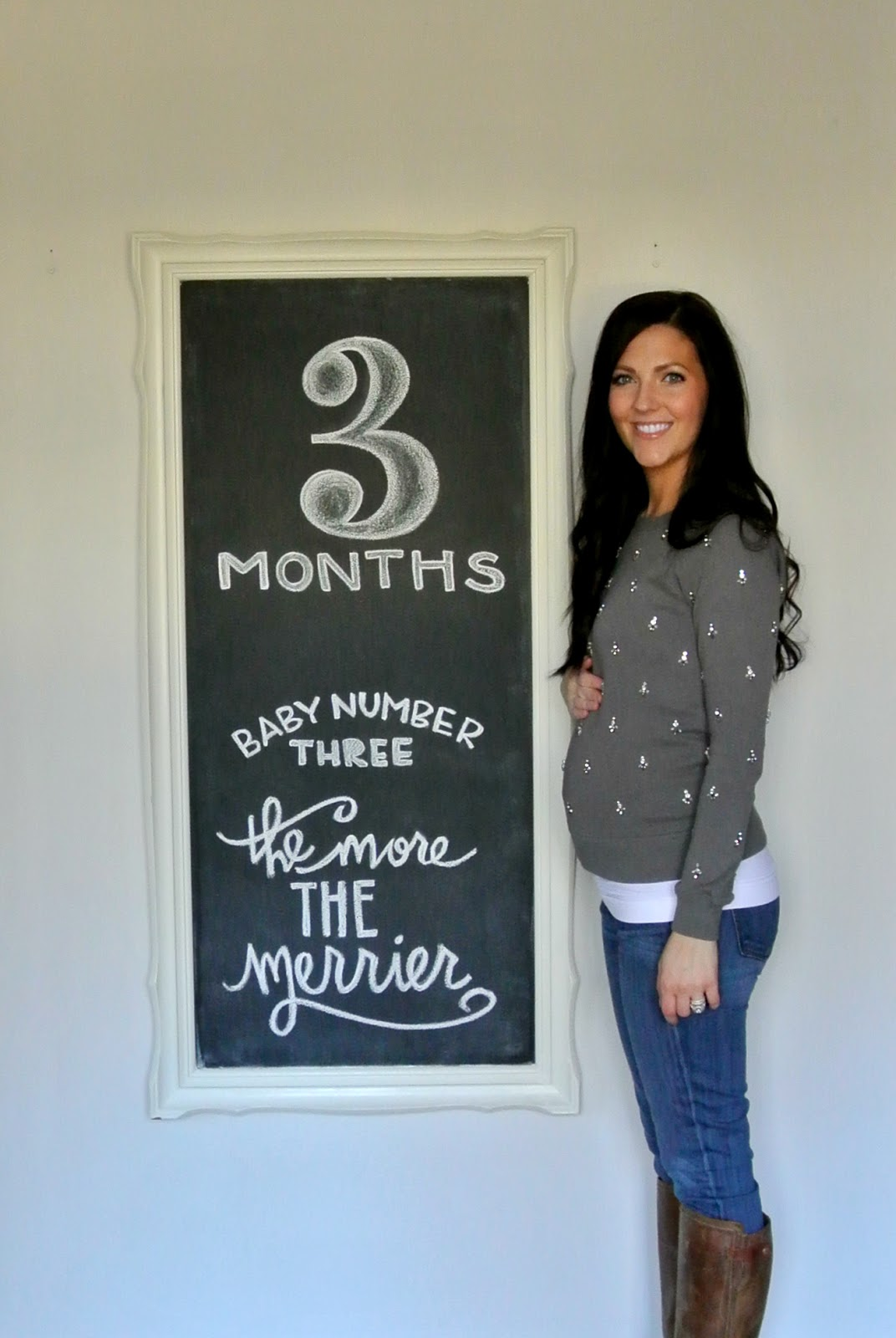 Pregnant At Three Months 18