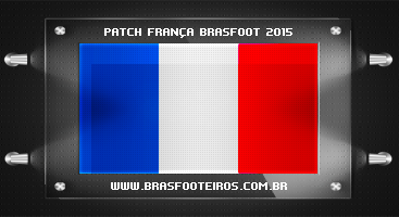 Patch França – Brasfoot 2015