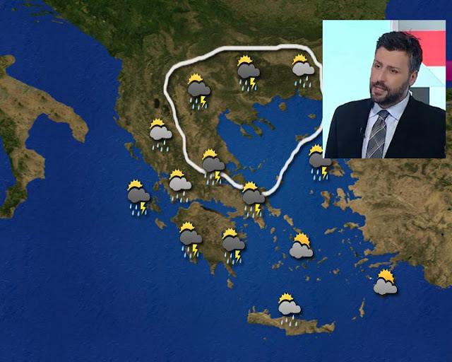 Γιάννης Καλλιάνος: Ανησυχώ για τις σφοδρές καταιγίδες που έρχονται