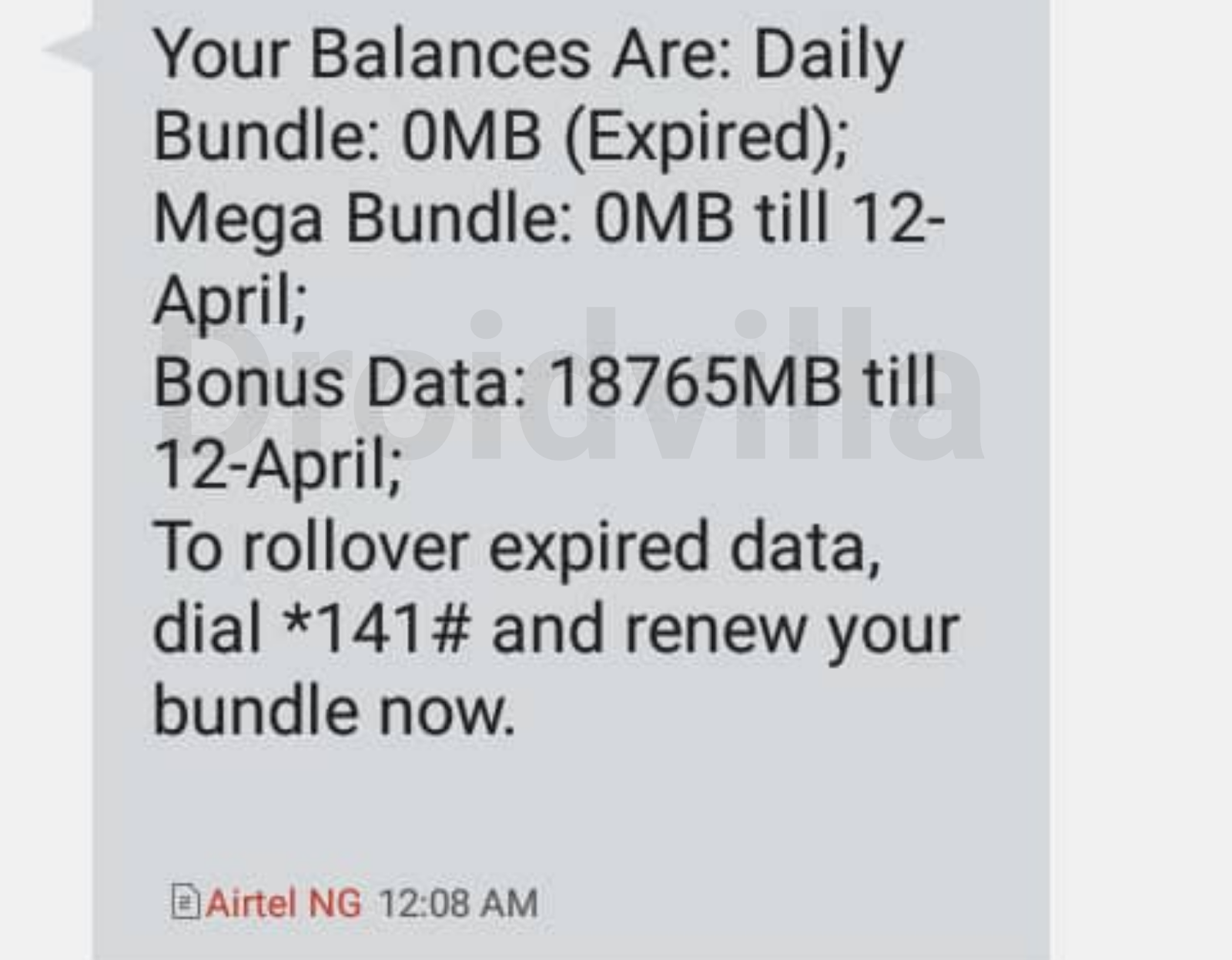 Airtel unlimited data tweak