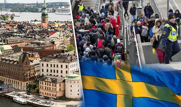 لم شمل الأسرة إلى السويد
