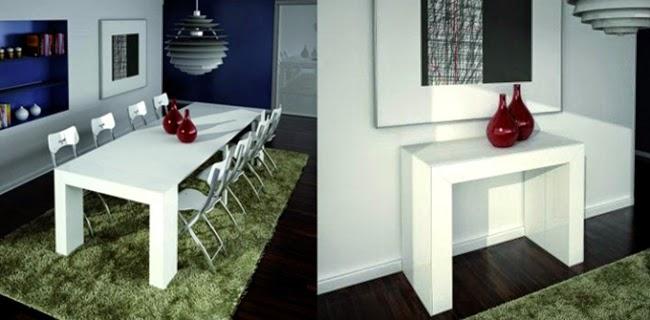 Mesa Super Compacta Para Salones Pequenos - Mesas-para-salones-pequeos