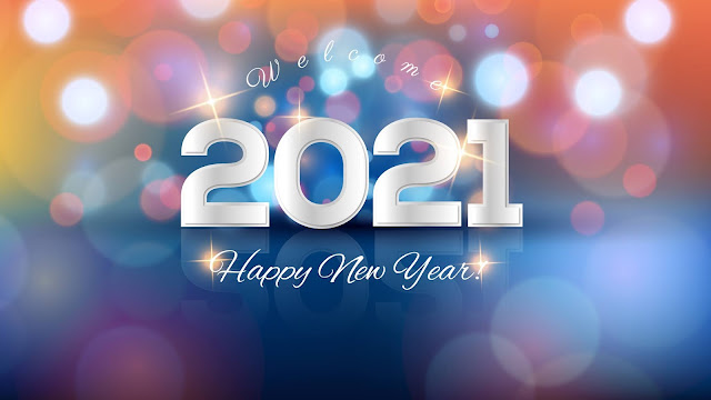 Welcome Happy New Year 2021 Wallpaper