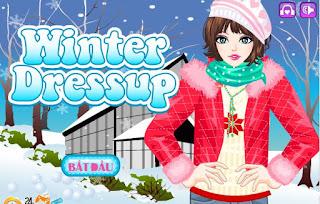 Game thời trang mùa đông hay nhất