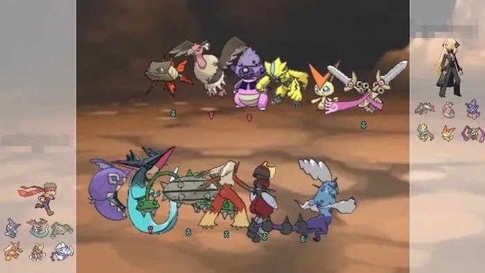 أفضل ألعاب متصفح Coop Pokemon Showdown