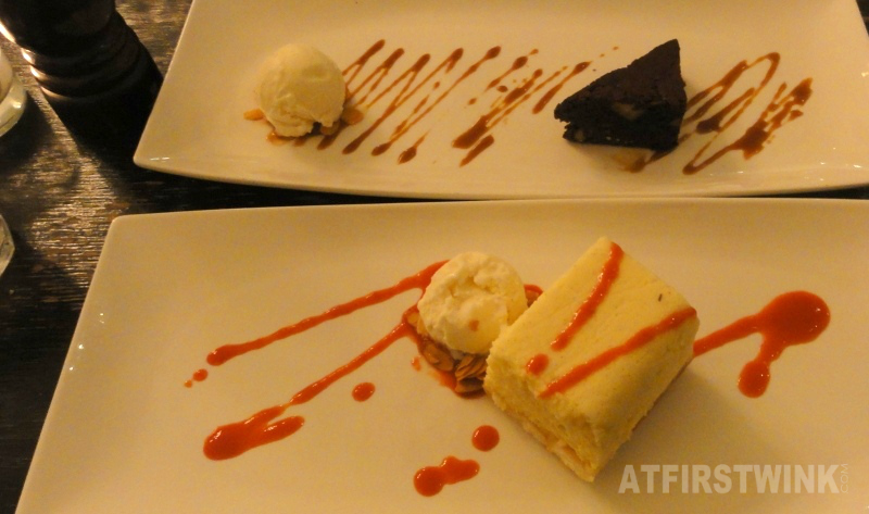 taartje van limoncello en brownie | Restaurant Rodin Rotterdam