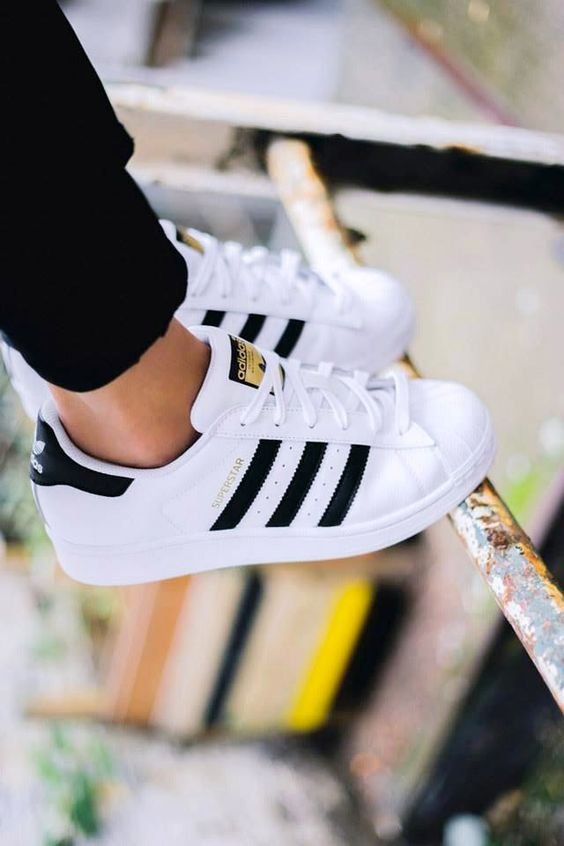 Adidas Originals Superstar Sneakers Black White
