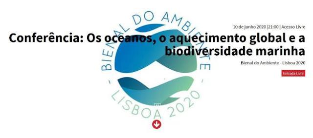 CCB Lisboa - Bienal do Ambiente - Lisboa 2020