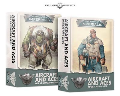 Set de cartas Aeronautica Imperialis
