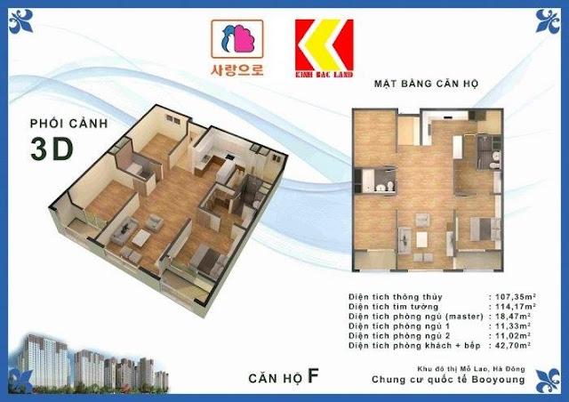Chọn căn hộ Chung cư Booyoung Hình 5