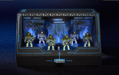 San Diego Comic-Con 2020 Exclusive Halo Mega Construx Master Chief Micro Action Figure Set by Mattel