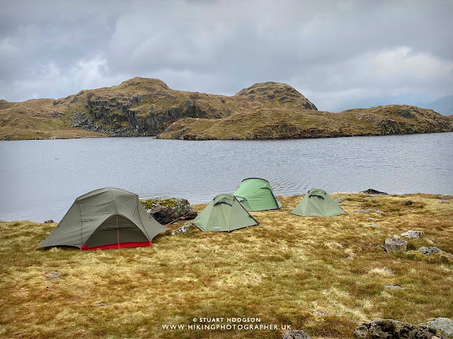 Wild camping Lake District best spot Angle Tarn