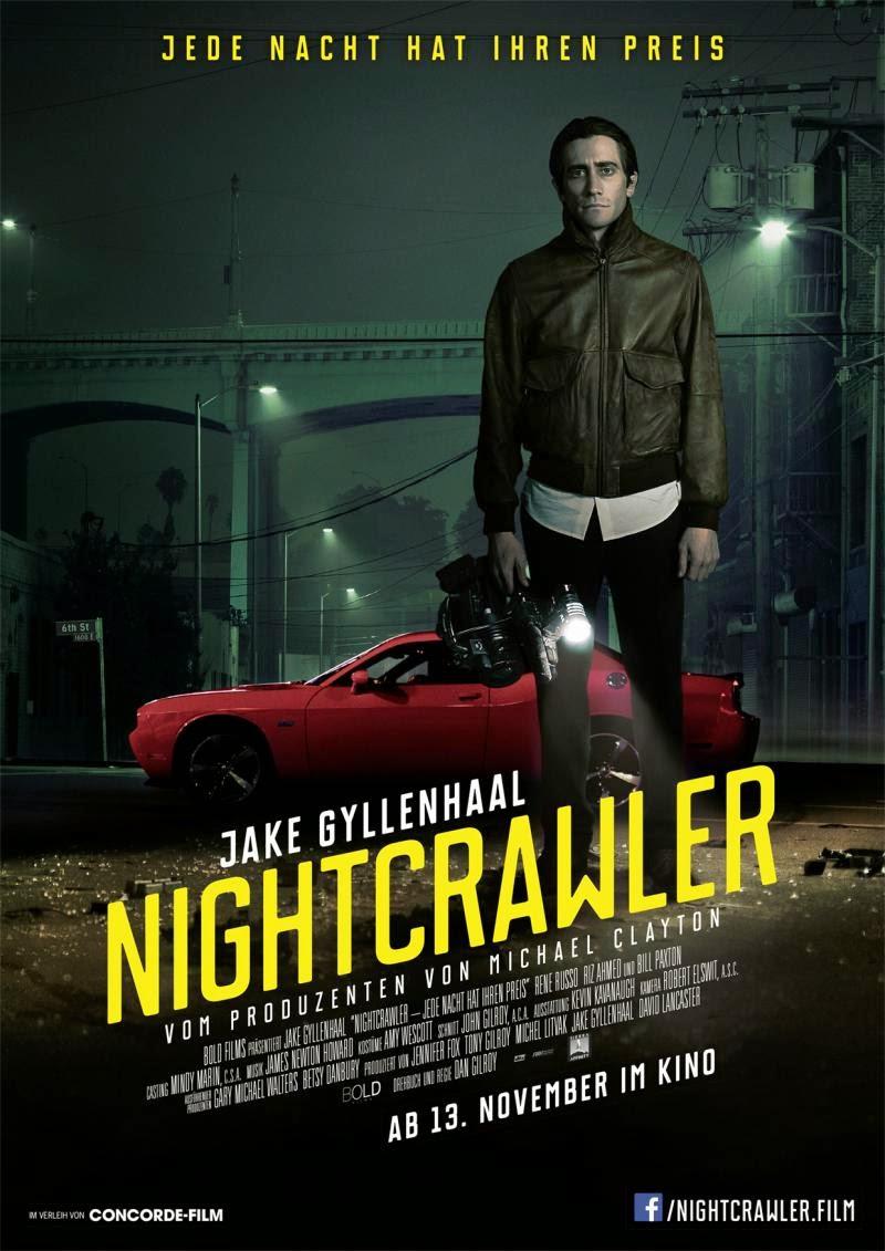 Nightcrawler / Νυχτερινός ανταποκριτής 2014  DVDSCR ταινιες online seires xrysoi greek subs