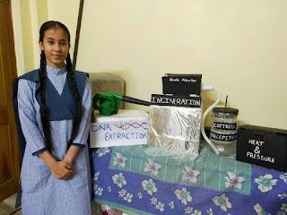 इंस्पायर अवार्ड के लिए राष्ट्रीय प्रदर्शनी में जिले की दो छात्राएं सम्मिलित होंगी