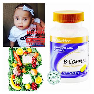 B-COMPLEX SHAKLEE: Vitamin B terbaik diperakui oleh KKM