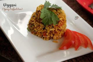 South Indian Breakfast Uggani Recipe