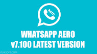 Download WhatsApp Aero v7.100 Latest Version Android