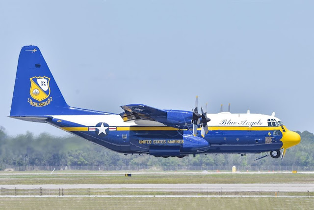 Blue Angels Fat Albert replacement