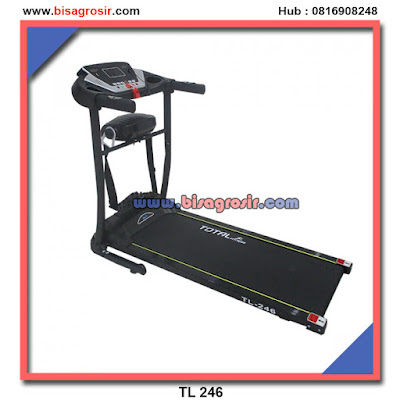 TL 246 Treadmill elektrik 2 in 1 Garansi 1th