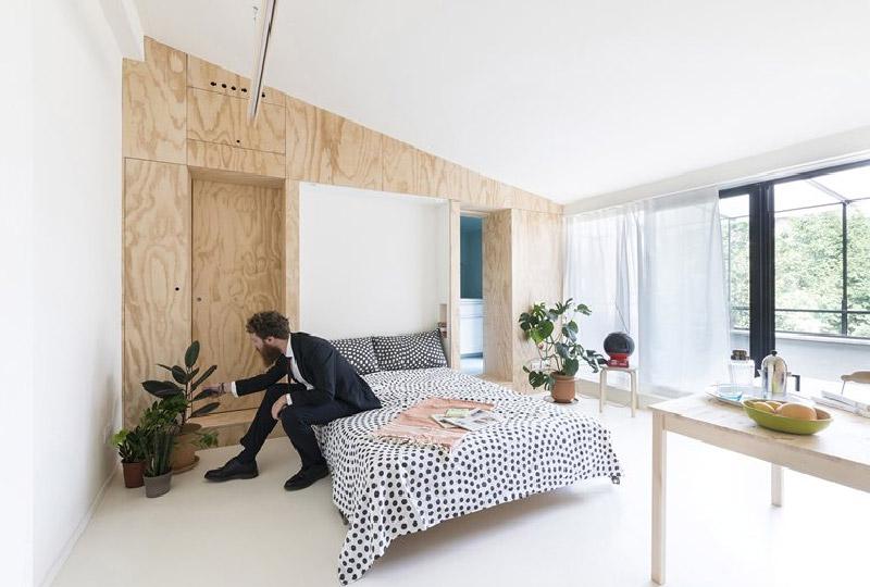 In poco spazio tutto il comfort abitativo di un appartamento più grande