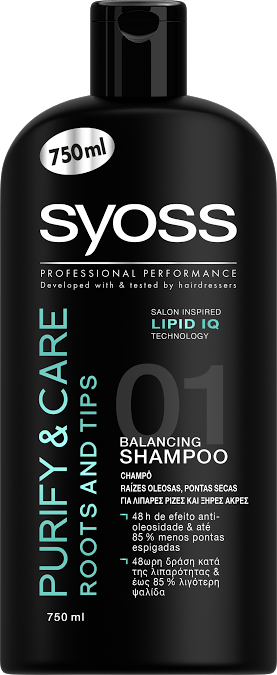 SYOSS PURIFY & CARE ROOTS AND TIPS