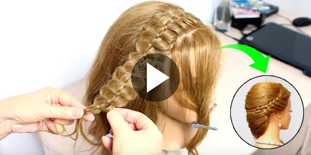 Learn, How To Create Cute And Beautiful Hairstyle, See Tutorial