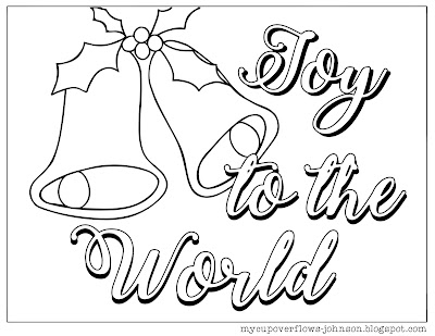 free Christmas coloring pages Christmas bells