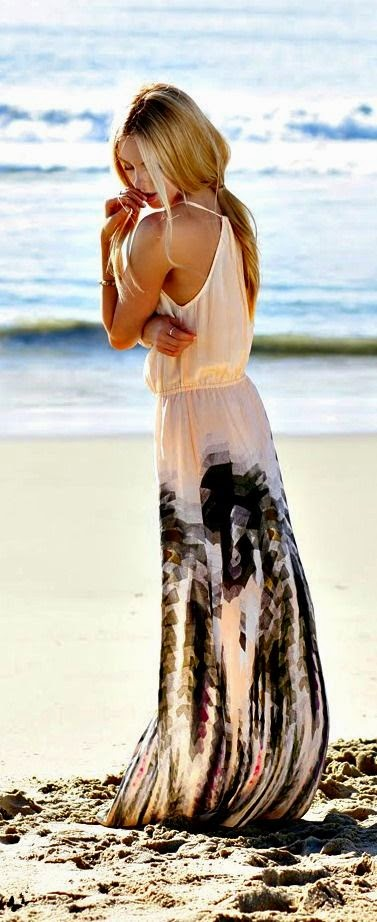 Beautiful dress for any beach vacation
