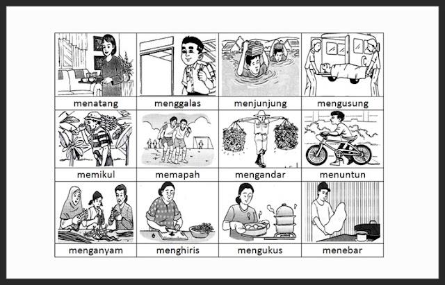 Pengertian Kata Kerja, Contoh Kata Kerja, Penggunaan Kata Kerja