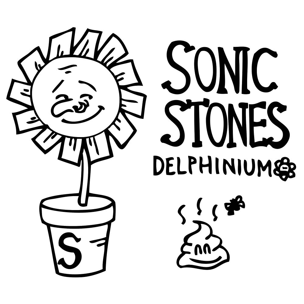 SONIC STONES – Delphinium – Single